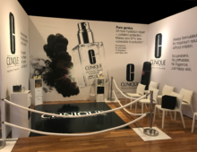 Clinique Trade Show Booths