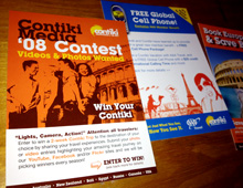 Contiki Media Contest Postcard