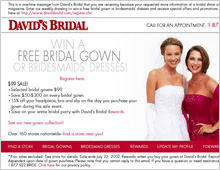 David's Bridal eMarketing