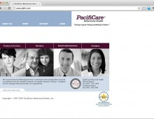 PacifiCare Behavioral Health Homepage